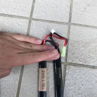 サバゲ リポバッテリー 2個 BA-036