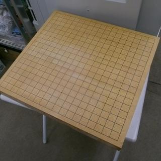 札幌 卓上 碁盤 厚さ5.5cm 囲碁 碁石なし 木製 五目並べ