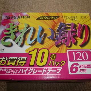 VHSビデオテープ(未使用品)合計19本