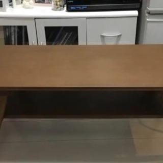 ニトリ 棚付きセンターテーブル 取りに来てくれる方限定!