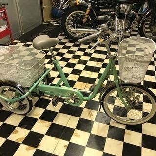 大人用三輪車 美品 スイング