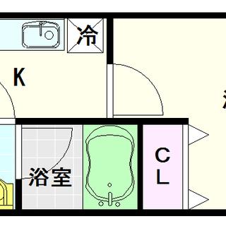 【KDXレジデンス難波南】8号タイプ!1Kタイプ!大型マンションの...