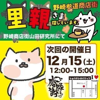 猫の里親会 in 野崎商店街
