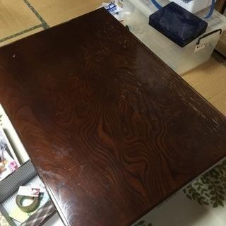 11月19日まで 限定譲渡 テーブル 123×88×31cm 関東...