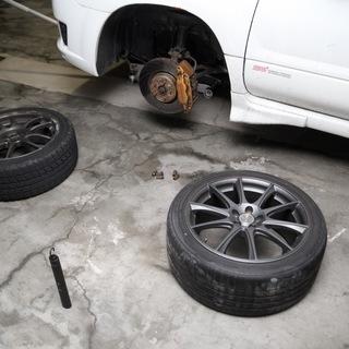 長野市~出張タイヤ交換いたします!