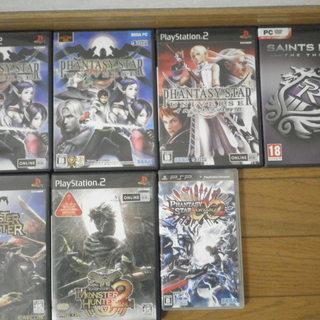 PS2他ゲームソフト差し上げます。