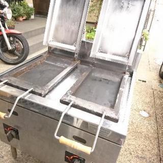 激安!!マルゼン LPガス用餃子焼器 グリラー 厨房機器