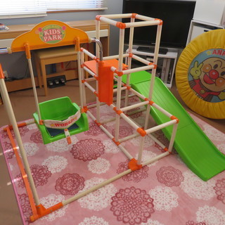 日本育児 ジャングルジム 室内鉄棒 ブランコ