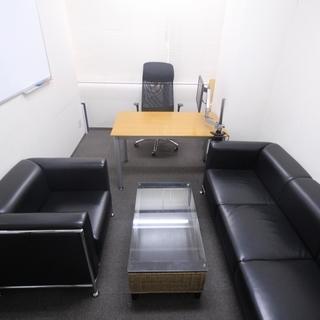 オフィス応接セット(高級ソファ・ローテーブルのセット)