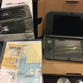 new NINTENDO 3DS LL本体+ソフト7本+おまけ