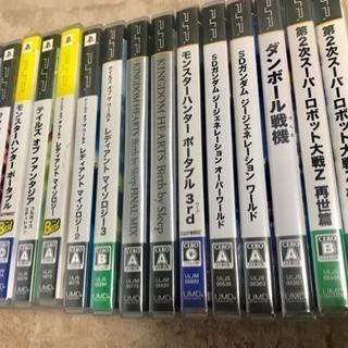 PSPソフトまとめ売り 美品 箱と説明書付き