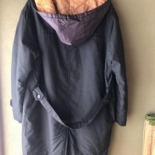 コート メンズ ダサい 黒 Lサイズ