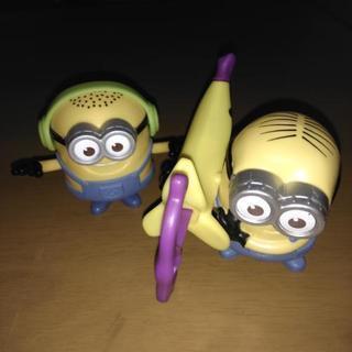 ミニオン玩具2個セット ハッピーセット