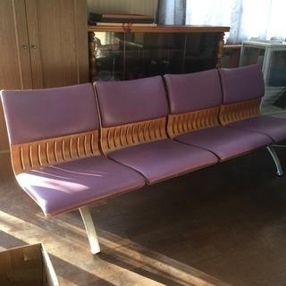天童木工 椅子 ベンチ ソファー 4人掛け ヴィンテージ