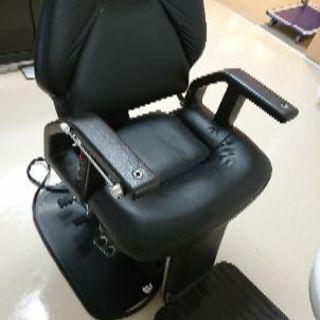 加圧式電動理容椅子