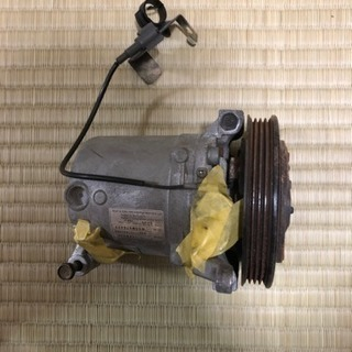 スバルインプレッサ GDB E型 純正エアコンプレッサー
