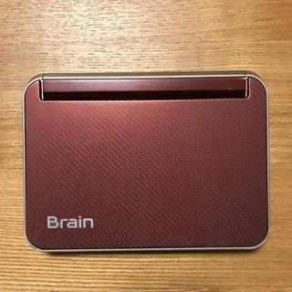 生活総合系 高機能電子辞書 Brain SHARP製
