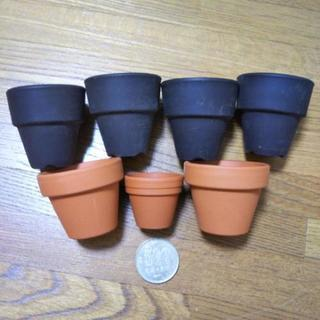 ミニミニ素焼き鉢セット