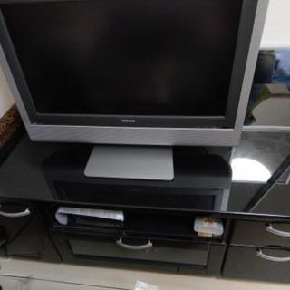 【バラ売りOK!】26型テレビ&テレビ台セット