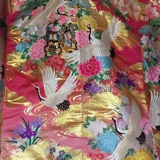 5万円 婚礼衣装 色打掛 ピンク