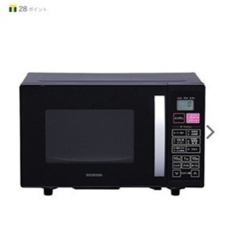 ◆アイリスオーヤマ◆オーブンレンジ◆ほぼ未使用品◆場所により配送...