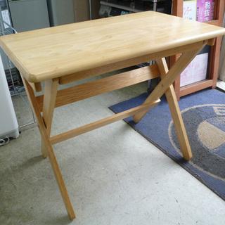 南12条店 木製折りたたみテーブル 学習机