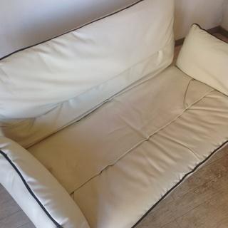 ★ 美品 ★  小さめのソファーベッド