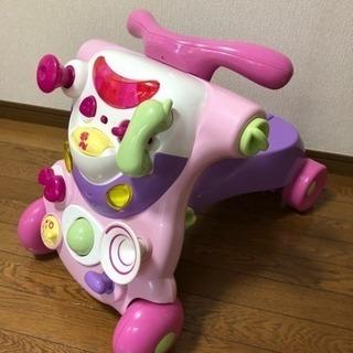 子ども用☆室内バイク☆2in1☆手押し車としても