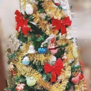 オーナメント付クリスマスツリー(150cm)お譲り致します🎄