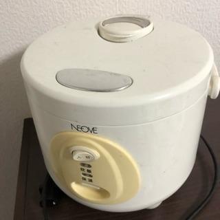 炊飯器、電子レンジセット