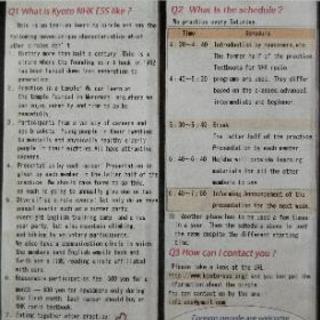 京都の英会話サークル、京都(NHK)ESS、ニューカマー募集中!