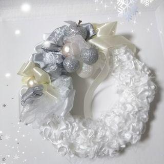 whiteリース~クリスマスに♪