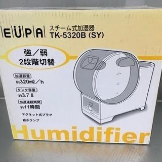 未使用品 スチーム式加湿器 ◇TK-5320B 加湿器 ユーパ★
