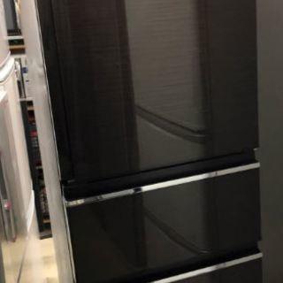 (中古) 3ドア冷蔵庫 三菱ノンフロン 2017年製 MR-CX3...