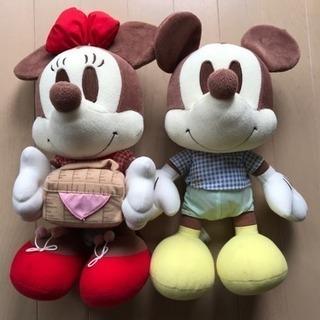 ミッキー&ミニーぬいぐるみ