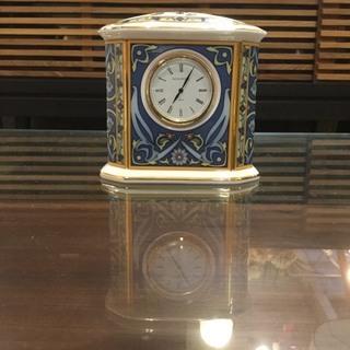【店頭引取り限定】WEDGWOOD エレファントクロック (置き時計)