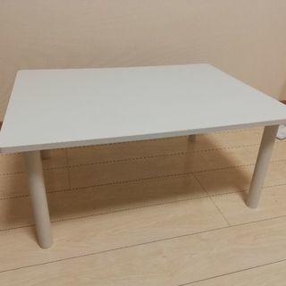 テーブル 半年間使用 60×80×35