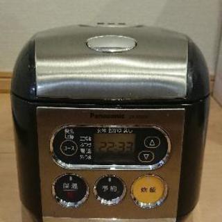 500円 3合炊き炊飯器 Pana...