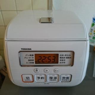 【値下げしました!】TOSHIBA 炊飯器 炊飯ジャー