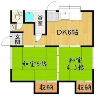☆西鉄二日市駅徒歩6分☆一軒家賃貸☆2DK☆敷金・礼金なし☆こんな...