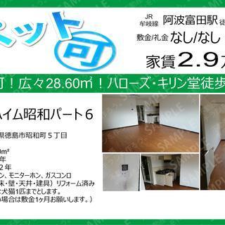 ペット可!2.9万円