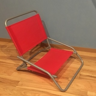 椅子 (赤色)