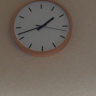 無印良品 掛け時計