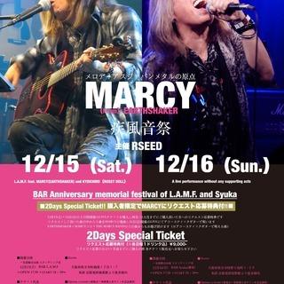 疾風音祭 MARCY(EARTHSHAKER)2DAYS LIVE