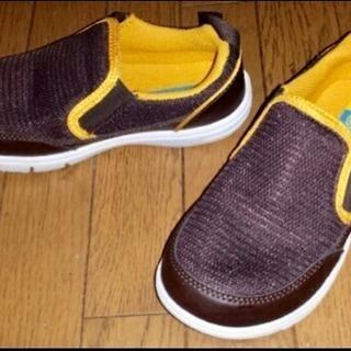 新品 Hawkins ホーキンス♪超軽 キッズシューズ 靴 19cm