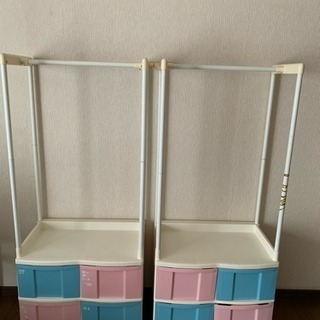 子供用収納ケース  2セット