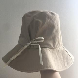 【bulle de savon】シンプルなリボン付 帽子