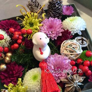 2019♥お正月♥ボックスフラワー♥お花のおせち♥