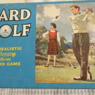 昭和レトロ ゴルフカードゲーム