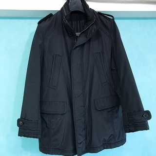 MALE & Co.  メンズコート 防寒着 中古美品 黒色 M...